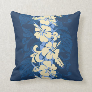 Waikoloa Hawaiian Hibiscus Floral Pillow