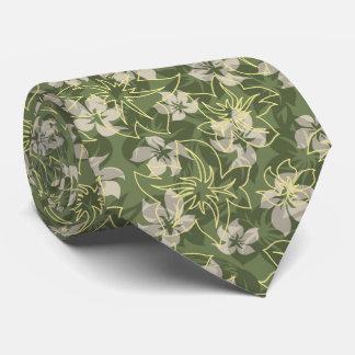 Wailea Hibiscus Hawaiian Floral Camo Duo Cases Tie