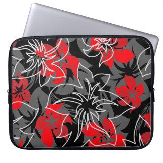 Wailea Hibiscus Hawaiian Neoprene Wetsuit Laptop Sleeve