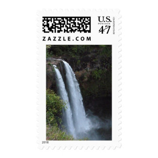 Wailua Falls Kauai Hawaii Postage