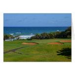 Wailua Golf Hole 17 Greeting Card