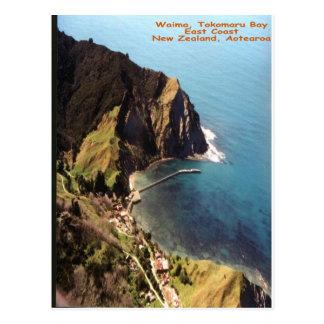 Waima, bahía de Tokomaru, Eastcoast, Nueva Zelanda Tarjeta Postal