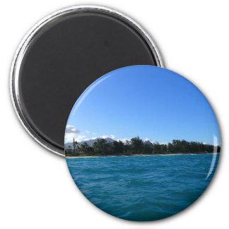 Waimanalo Bay and beach Magnet