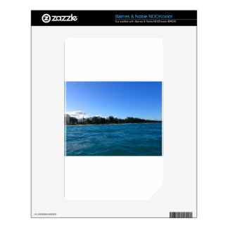 Waimanalo Bay and beach Skins For NOOK Color