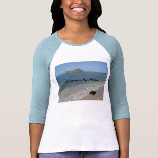 Waimanalo Beach, Hawaii...My Home T Shirt