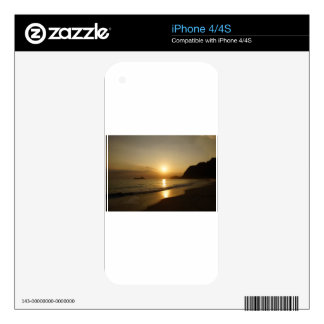 Waimanalo Beach Sunrise Decal For The iPhone 4