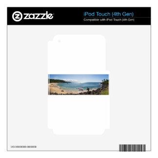 waimea bay panorama iPod touch 4G skin