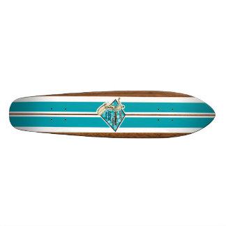 Waimea Bay Vintage Surf Skateboard