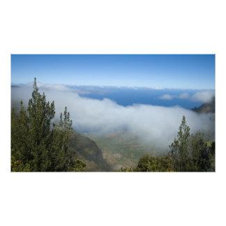 Waimea Canyon Above the Clouds, Kauai Hawaii Photo Print