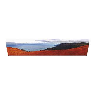 Waimea Canyon - by Mark Stretched Canvas Print