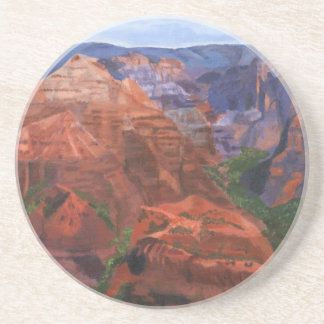 Waimea Canyon Hawaii Drink Coaster