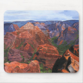 Waimea Canyon Hawaii Mouse Pad
