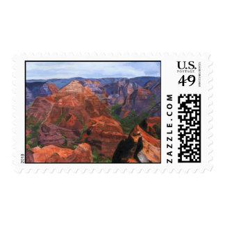 Waimea Canyon Hawaii Stamp