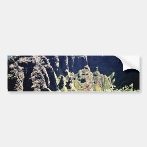 Waimea Canyon - Kauai Car Bumper Sticker