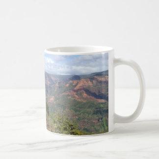 Waimea Canyon Kauai Hawaii Classic White Coffee Mug