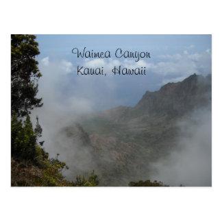 Waimea Canyon - Kauai, Hawaii Postcard