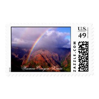 Waimea Canyon - Kauai Postage