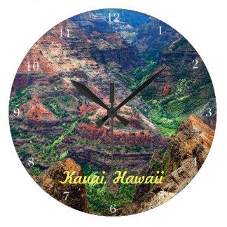 Waimea Canyon Large Clock