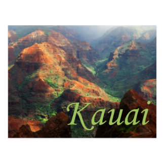 Waimea Canyon Postcard