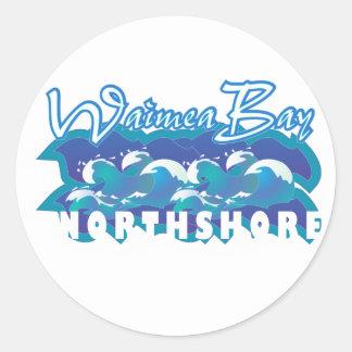Waimea Classic Round Sticker