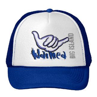 Waimea Hawaii blue shaka hat