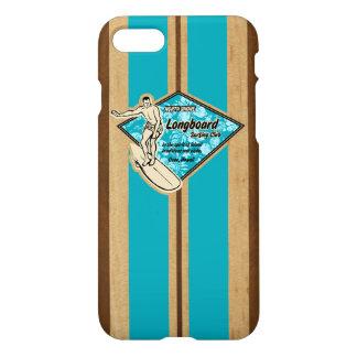 Waimea Surfboard Hawaiian Faux Wood iPhone 8/7 Case