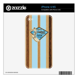 Waimea Surfboard Hawaiian iPhone 4/4S Skin iPhone 4 Decal
