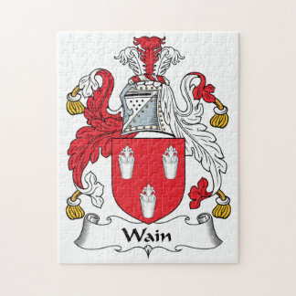 Wain Family Crest Puzzles