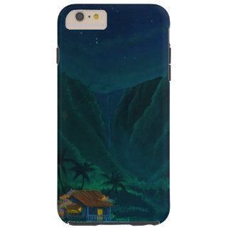 Wainiha Valley Home on a Starry Night Tough iPhone 6 Plus Case