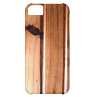 Wainscoting Wood Panel Cover For iPhone 5C