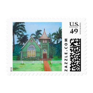 Wai'oli Hui'ia Church Stamps