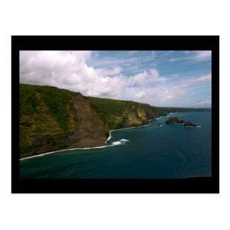 Waipio Coast - Hawaii Postcard