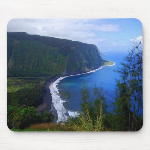 Waipio Valley Lookout Mousepad