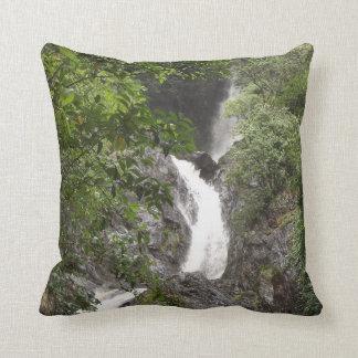 Wairere Falls Throw Pillow