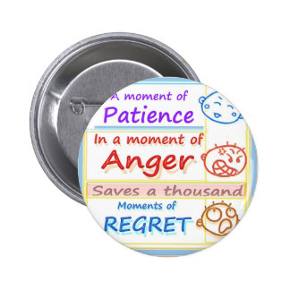 Wait a MOMENT and Reflect Pinback Buttons