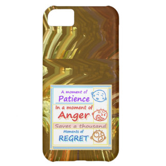 Wait a MOMENT and Reflect iPhone 5C Cover