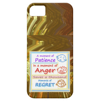 Wait a MOMENT and Reflect iPhone SE/5/5s Case