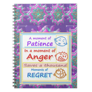 Wait a MOMENT and Reflect Note Book