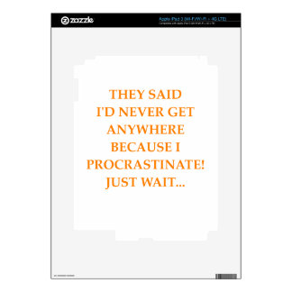 WAIT DECAL FOR iPad 3