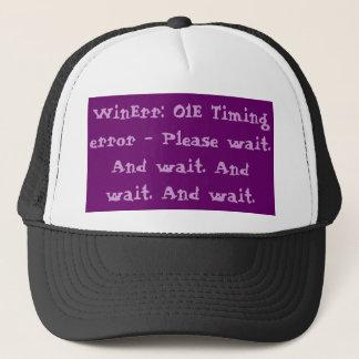 Wait Error Code Trucker Hat