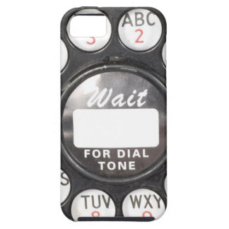 Wait For Dial Tone iPhone 5 Case