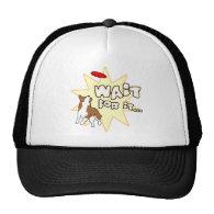 Wait For It Corgi Disc Dog Hats