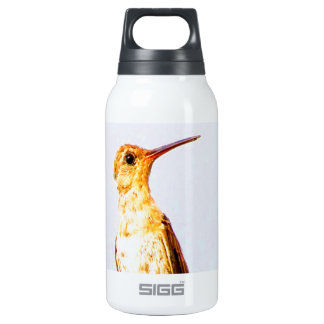 Wait for love and joy buffy hummingbird twig insulated water bottle