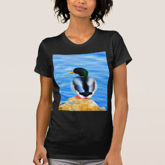 Wait for love peace and joy duck water bird shirt