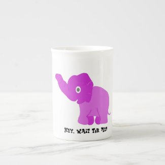 Wait For Me Bone China Mug