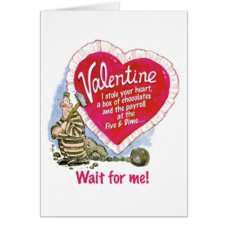 Wait For Me Card