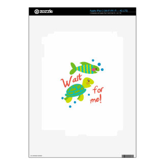 Wait For Me Decal For iPad 3