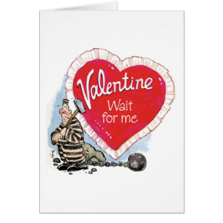 Wait For Me Greeting Card