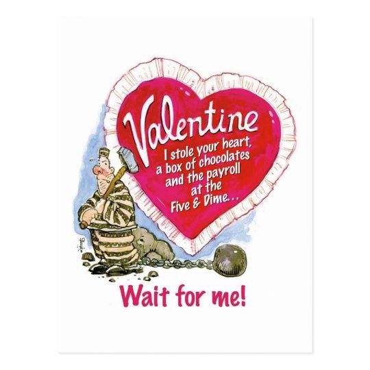Wait For Me Postcard