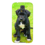 Wait for mom love great dane dog black animal galaxy s5 cases